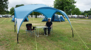 3.5m x 3.5m Royal Outdoor Event Shelter with all 4 side walls